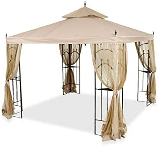 Replacement Canopy and Netting Set for Home Depotu0027s Arrow Gazebo  sc 1 st  Amazon.com & Amazon.com : Garden Winds Arrow Gazebo Replacement Canopy And ...