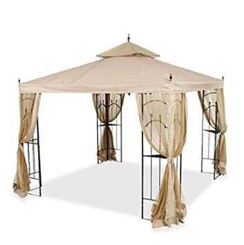 Swell Replacement Canopy And Netting Set For Home Depots Arrow Download Free Architecture Designs Momecebritishbridgeorg