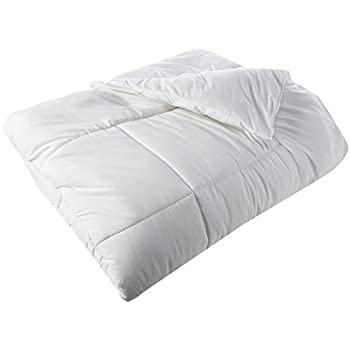 Elegant Comfort Down Alternative Comforter Duvet Cover Insert, Twin/Twin X-Large, White
