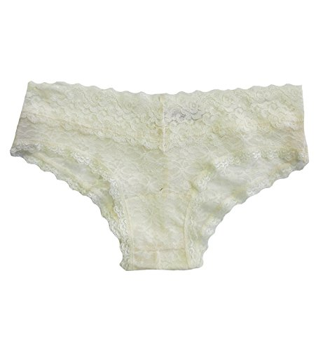 Undie Couture Lace Hipster Panties (8247) (Medium/Large (8-10), Ivory)