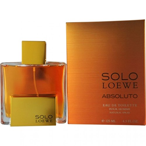 LOEWE Solo Absoluto Eau De Toilette Spray for Men, 4.3 Ounce ()