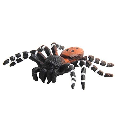 Lovhop Tricky Prank Toys,Simulated Spider Model Halloween Toys Tricky Scary Prank Strange Collection Kids-#D