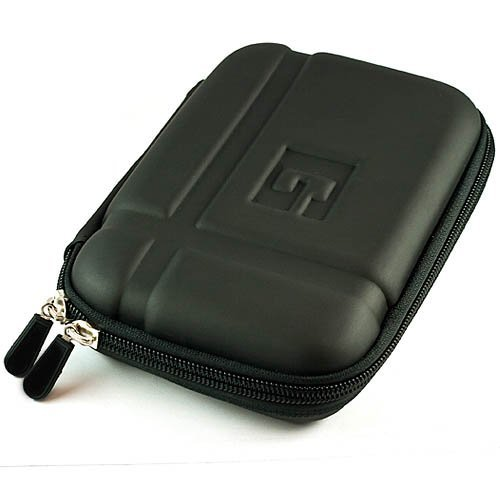 VanGoddy GPS Carrying Case w/Carbineer for Magellan RoadMate 5230T-LM 5'' GPS Navigator (Gun Metal) by Vangoddy