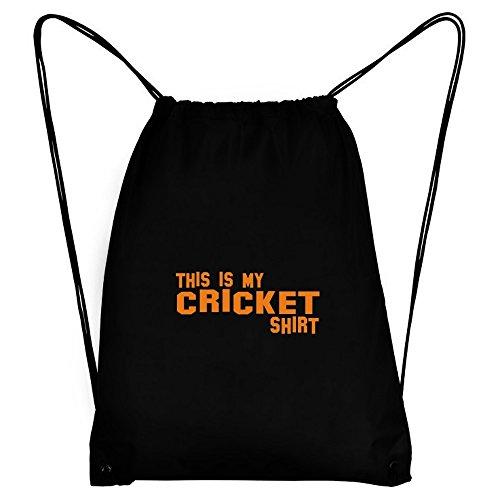 Teeburon THIS IS MY Cricket SHIRT Sport Bag by Teeburon