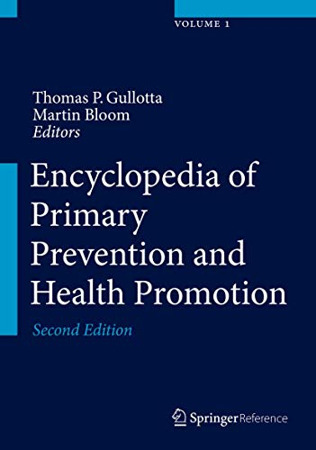 Encyclopedia of Primary Prevention and Health