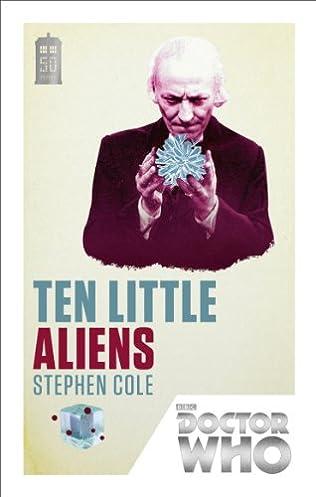 book cover of Ten Little Aliens