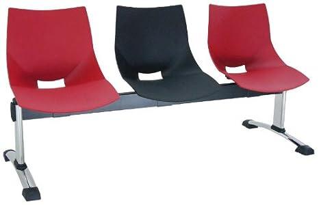 Vincolo - Bancada fama de 3 plazas bancada ergonómica para ...