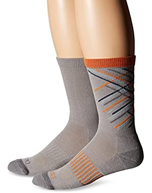 Men's 2 Pack Performance Crew Socks