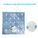 "Misscrafts 50pcs 8"" x 8"" (20cm x 20cm) Top Cotton"