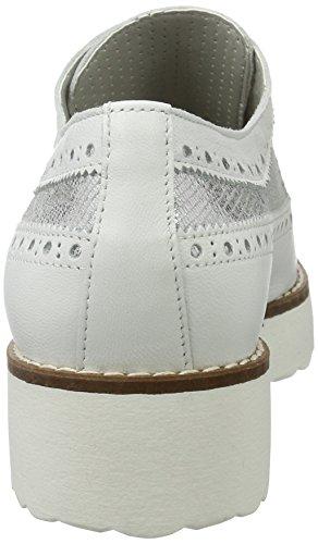 Marc Cordones Shoes Diamond White Weiß Brogue de para Zapatos Romy Mujer rIrn1xwO6q