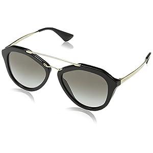 Prada Women's 0PR 12QS Black/Grey Gradient