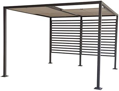Jet-line Gazebo Amun - Cenador para jardín (3 x 4 m, protección ...