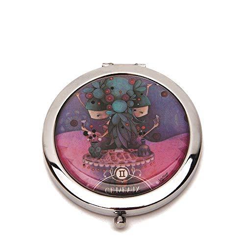 Ketto Pocket mirror Zodiac- Compact Cosmetic Mirror (Scorpio) ()