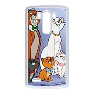 LG G3 Cell Phone Case Covers White AristoCats JXE