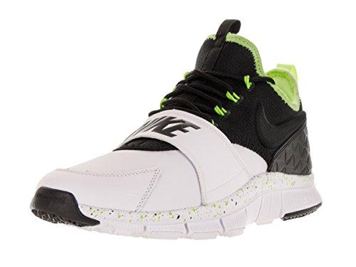 Nike Menns Gratis Ess Lthr Trening Sko Hvit / Svart / Spøkelse Grønn