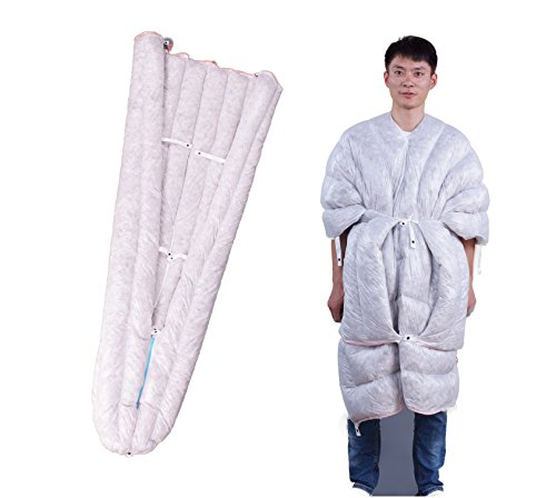 WIND HARD Wearable Goose Down Sleeping Bag UL Down Sleeping Bag 3 Season Quilt Envelope Down Sleeping Bag for Backpacking 850 Fill - Geese Quilt