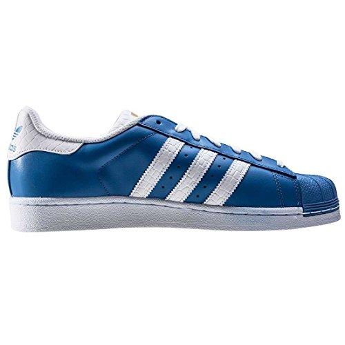 blu Superstar Sneaker Scarpe Uomo Ginnastica Da Adidas S75881 Blu Swzqx85E
