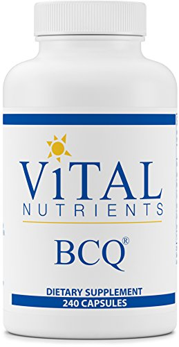 Vital Nutrients - BCQ (Bromelain, Curcumin & Quercetin) - Herbal Support for Joint, Sinus and Digestive Health - Gluten Free - 240 Capsules