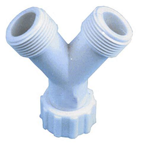 Universal - Racor union para tubo entrada 3/4 Y (doble): Amazon.es ...