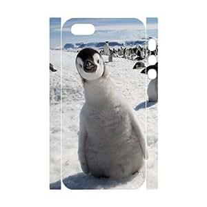 3D Bumper Plastic Customized Case Of Penguin for iPhone 6 plus