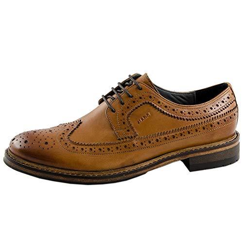 Shoes Marc Brogues 00941 Homme Marron Cognac cow Velvet Brentwood 4dqdfRZ