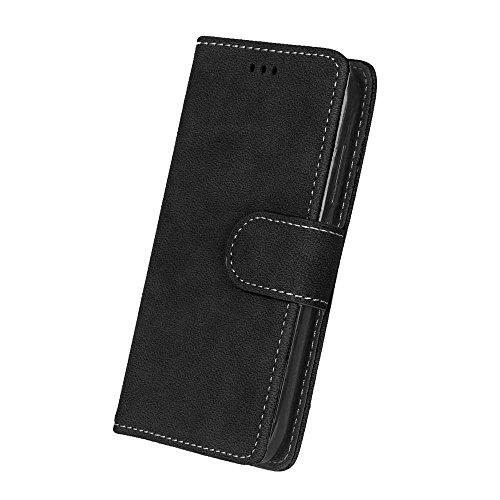 SRY-Conjuntos de teléfonos móviles de Huawei Funda Huawei Honor Bee Y541 Y5C, cubierta de la caja de cuero de la PU con ranuras para tarjetas de funciones de billetera Marcos de fotos para Huawei Hono 4