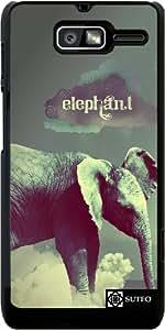 Funda para Motorola RAZR D3 (XT919) – Elefante en las nubes - ref 598