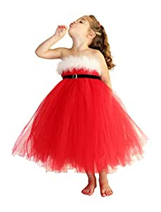 Christmas Santa Tutu Dress Size: Small
