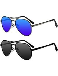 Kids Polarized Aviator Sunglasses for Girls Boys Children...