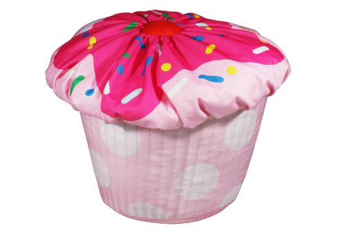 Newco Cupcake Bean Bag Pink
