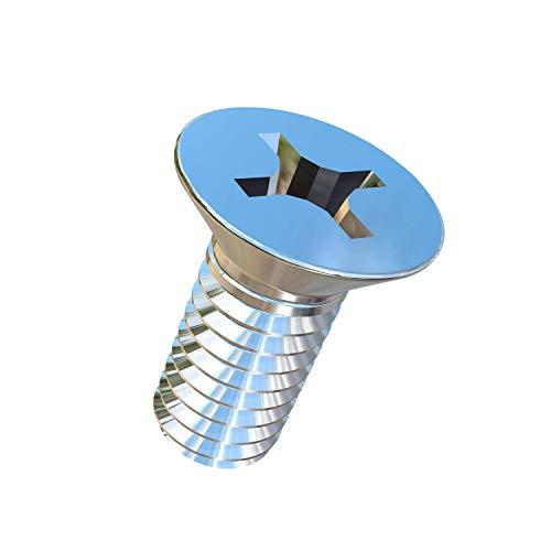 (Allied Titanium 0001310, (Pack of 20) 5/16-18 X 3/4 UNC Flat Head, Phillips Drive, Titanium Machine Screw, Grade 2 (CP))