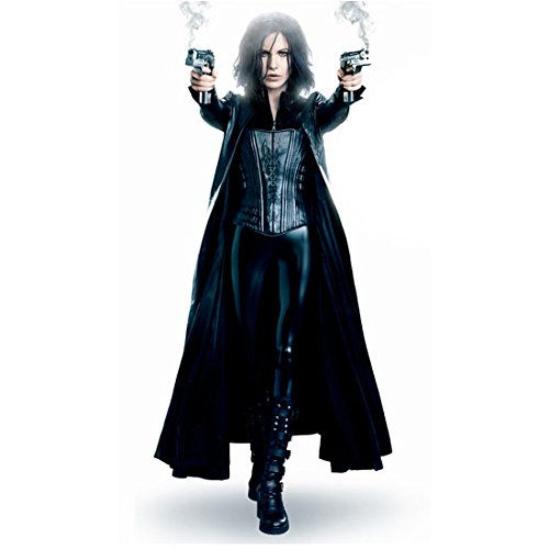 Underworld Kate Beckinsale as Selene in Corseted Catsuit and Trench Coat Full Body with Smoking Guns 8 x 10 Photo  sc 1 st  Amazon.com & Underworld Photo: Amazon.com