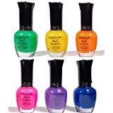 Kleancolor - Neon Brights - 6 Nail Lacquer Colors