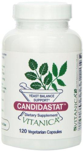 Vitanica Candidastat Vegetarian Capsules 120 Count product image