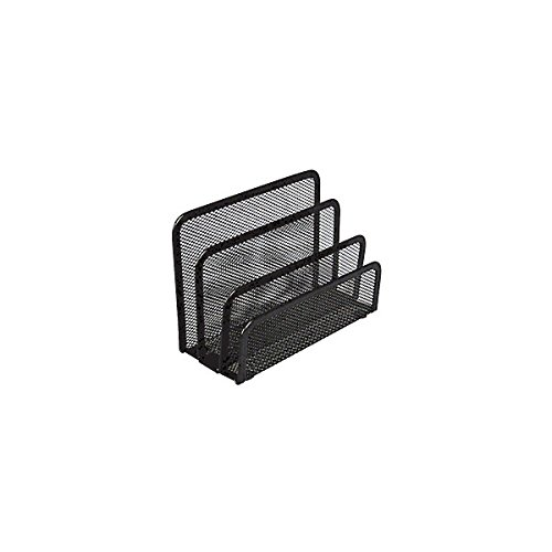 186535 Office Depot Brand Metro Mesh Mini Sorter, Black ()