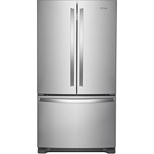 Whirlpool WRF535SWHZ 25 Cu. Ft. Stainless French Door Refrig