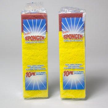 Ddi Sponge Scouring 10pk Foam/scour (pack Of 80) by DDI