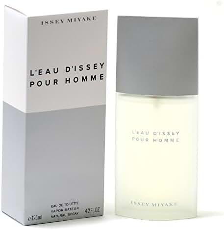 Issey Miyake L'eau D'issey Pour Homme Eau de Toilette, 4.2 Ounce