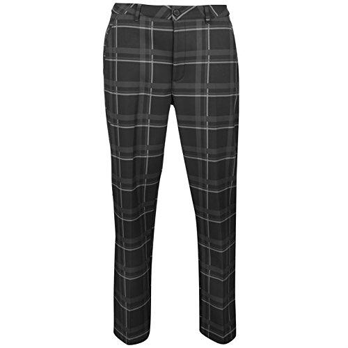 Slazenger Hombre Pantalones De Golf De Cuadros De Invierno tQRAHyae