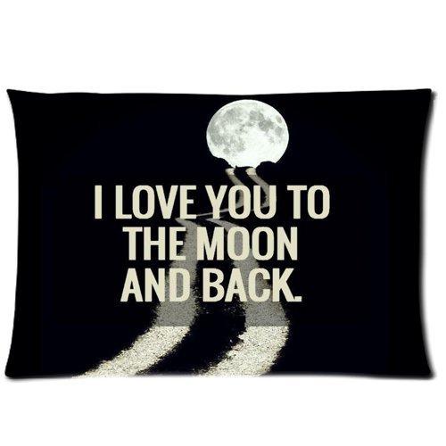 I Love You To The Moon And Back manta funda de almohada ...