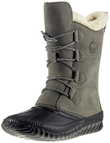 SOREL Women's Out 'N About Plus Tall Boots, Quarry, 7.5 M US