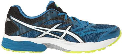 Flux Blue Shoe Thunder Gel Running 4 Men ASICS Black Silver qTwHOp