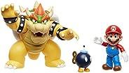 Diorama Super Mario vs. Bowser Castle, Super Mario, Candide