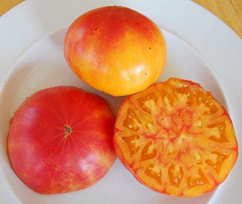 - 30+ Pineapple Tomato Seeds- Organically Grown- Heirloom Variety