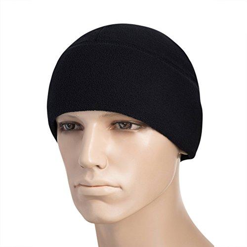 M-Tac Watch Cap Fleece 260 Slimtex Mens Winter Hat Military Tactical Skull Cap Beanie (Medium, Dark Navy Blue) ()