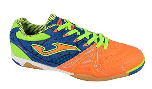 Joma Dribling, Zapatos de Futsal Unisex Adulto Naranja (Orange-royal)