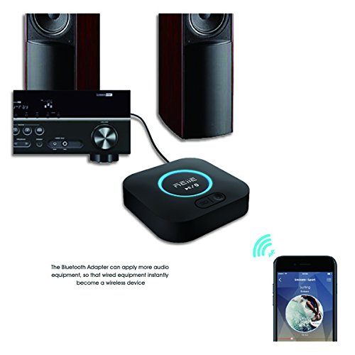 Bluetooth APT-X Hi-Fi Receiver and Audio Adapter, with 3D Surround and DSP, Low Latency for Home Music Stereo Streaming by REIIE by REIIE (Image #6)
