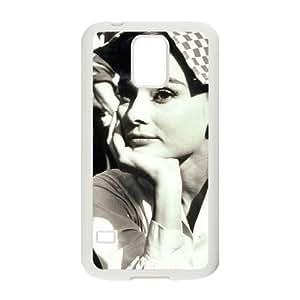 AUDREY HEPBURN Customized Case for SamSung Galaxy S5 I9600, New Printed AUDREY HEPBURN Case