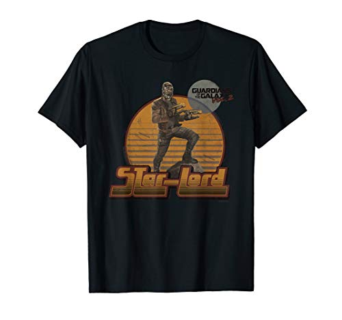 Marvel Star-Lord Guardians of Galaxy 2 Pose Graphic T-Shirt]()