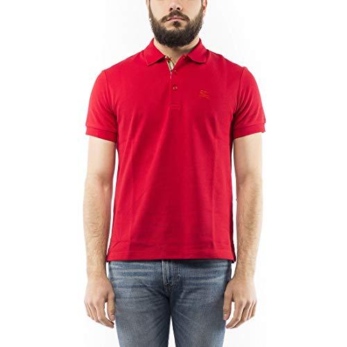 BURBERRY Men Polo Shirts Hartford Rosso ()